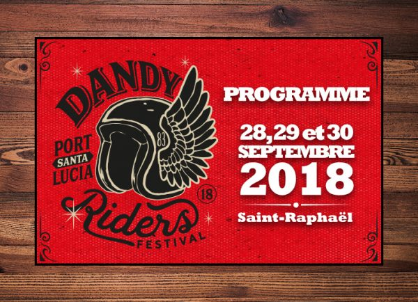 Dandy Riders Festival 2018, le programme complet